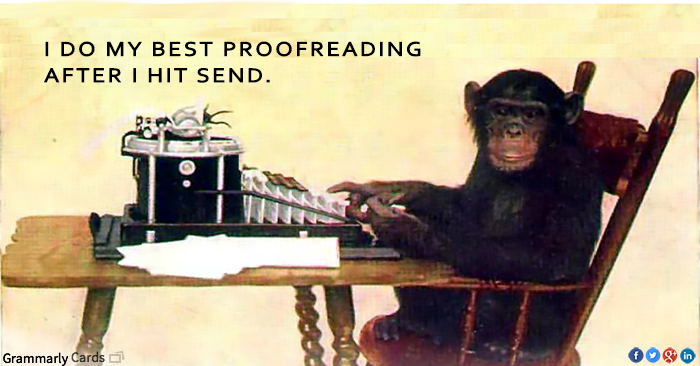Top Five Proofreading Tips